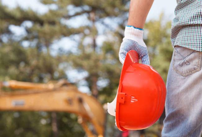 construction site, pt ferro, asphalt construction