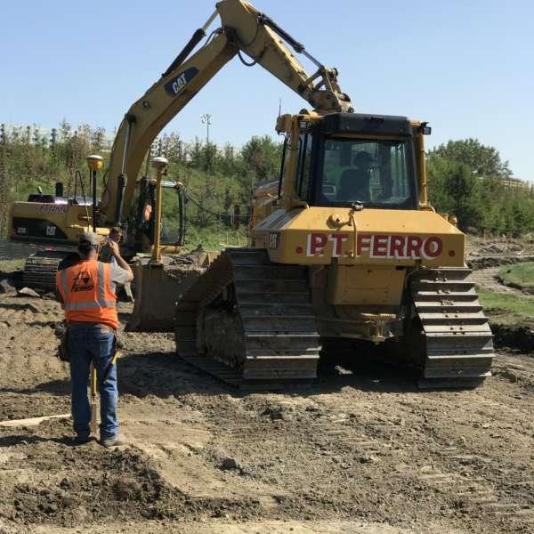 PT ferro excavation